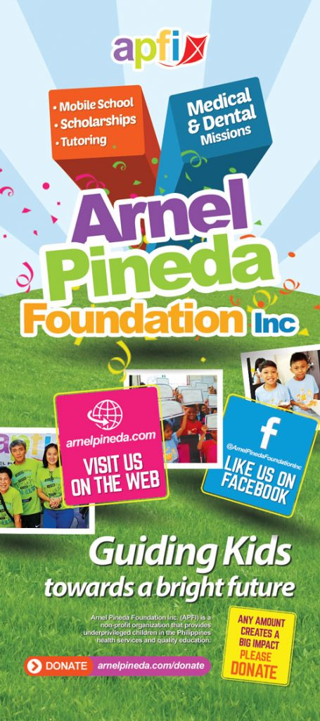Arnel Pineda Foundation Inc 2018