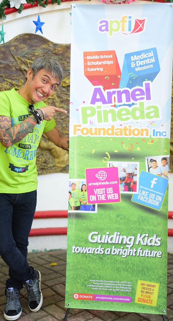 Arnel Pineda Foundation Inc | Photo: ©Paul Reyes Photography